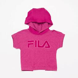 Camiseta Con Capucha Fila Raspberry Junior