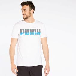 Camiseta Puma Half Text