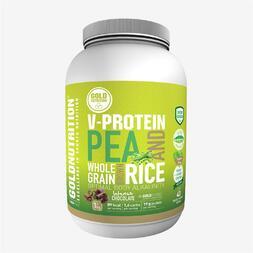 Proteína Vegetal Choco Gold Nutrition 1Kg