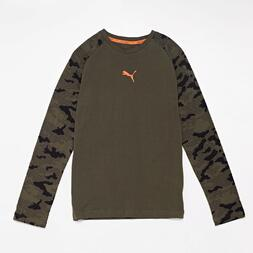 Camiseta Manga Larga Puma Junior