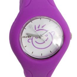 Reloj Niño Silver Morado