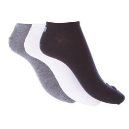 Calcetines Invisible PUMA Negro Gris Blanco