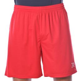 Short fútbol de DAFOR Hombre en rojo
