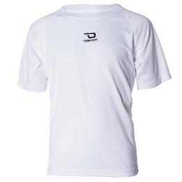 Camiseta manga corta de niño DAFOR en blanco (8-16)