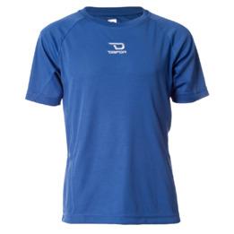 Camiseta manga corta de niño DAFOR en azul (8-16)