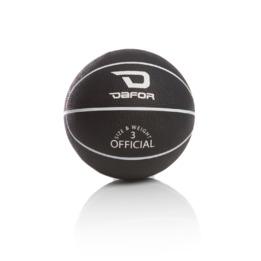 Minibalón TRAINING DAFOR Baloncesto Negro-Blanco