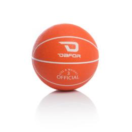 Minibalón TRAINING DAFOR Baloncesto Naranja-Blanco