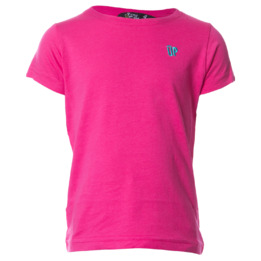 Camiseta UP Basic fucsia niña (2-8)