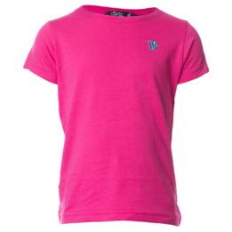 Camiseta UP Basic fucsia niña (2-8)