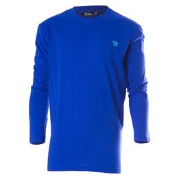 Camiseta de manga larga UP Basic azul niño (2-8)