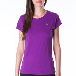 Camiseta UP Básicos morado mujer