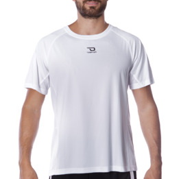 Camiseta manga corta de hombre DAFOR en blanco