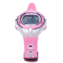 Reloj Moda Sport SILVER Rosa Mujer