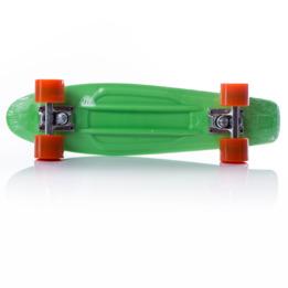 Monopatín MÍTICAL Verde Naranja