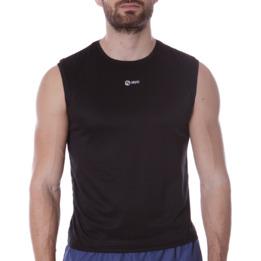 Camiseta Sin Mangas IPSO BASIC Negro Hombre