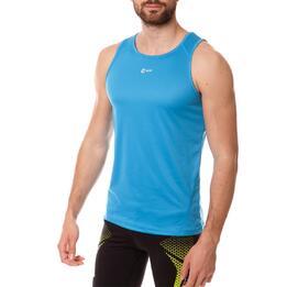 Camiseta Running IPSo Bsicos Azul Hombre