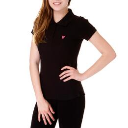 Polo UP Bsico Negro Mujer