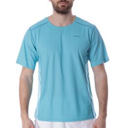 Camiseta Tenis Manga Corta Hombre PROTON Azul