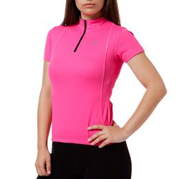 Maillot Ciclista Mujer Mítical Bronce Fucsia