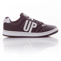 UP Zapatillas Negro Blanco Hombre