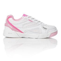 PROTON Zapatillas Tenis Niña Blanco Rosa(28-35)