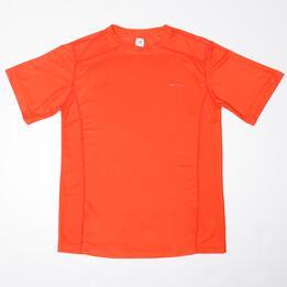 Camiseta Tenis Manga Corta PROTON Naranja (10-16)
