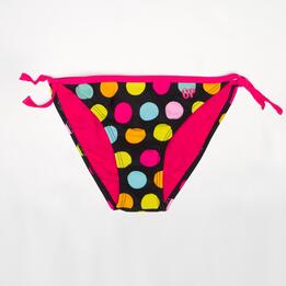 Braguita Bikini Lazo UP Lunares Niña (10-16)