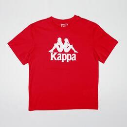 KAPPA WARREN Camiseta Roja Niño (8-14)