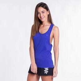 Camiseta Nadadora UP BASICS Azul Mujer