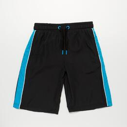 Pantalón Corto UP BASIC Negro Niño (2-8)