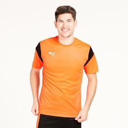 PUMA Camiseta Fútbol Naranja Hombre