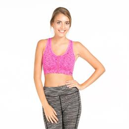 Top Deportivo Gym ILICO SEAMLESS Fucsia Mujer