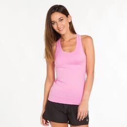 Camiseta Espalda Nadadora ILICO Rosa Mujer