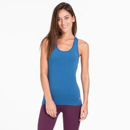 Camiseta Espalda Nadadora ILICO Denim Mujer