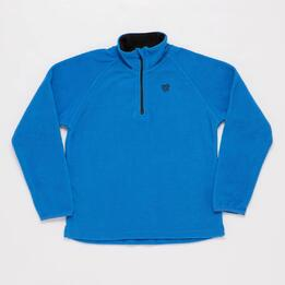Forro Polar UP BASIC Zip Azul Niña (10-16)