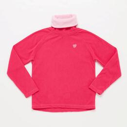 Forro Polar Cuello Alto UP BASIC Fucsia Niña (10-16)