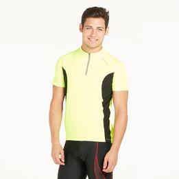 Maillot Ciclismo Amarillo Hombre Mitical Bronce