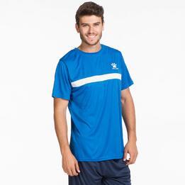 KELME Camiseta Fútbol Azul Hombre