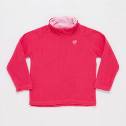 Forro Polar Cuello Alto UP BASIC Fucsia Niña (2-8)