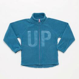 Forro Polar Cremallera UP BASIC Denim Niño (2-8)