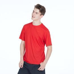 Camiseta Tenis Básica PRONTON Rojo Hombre
