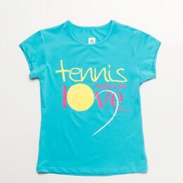 Camiseta Tenis PROTON Niña (10-16)