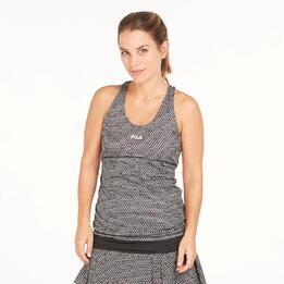 FILA Camiseta Tirantes Tenis Multicolor Mujer