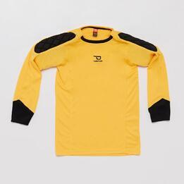 Camiseta Portero DAFOR Amarillo Niño (8-16)