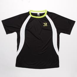 Camiseta Fútbol DAFOR Negro Lima Niño (6-16)