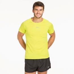 Camiseta Running IPSO BASIC Lima Hombre