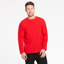 Forro Polar UP BASIC Rojo Hombre