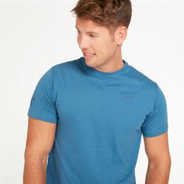 Camiseta Montaña Boriken Azul Denim Hombre