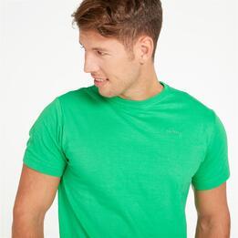 Camiseta Montaña Boriken Verde Hombre