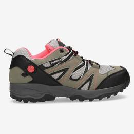 Zapatos Montaña BORIKEN Gris Coral Mujer
